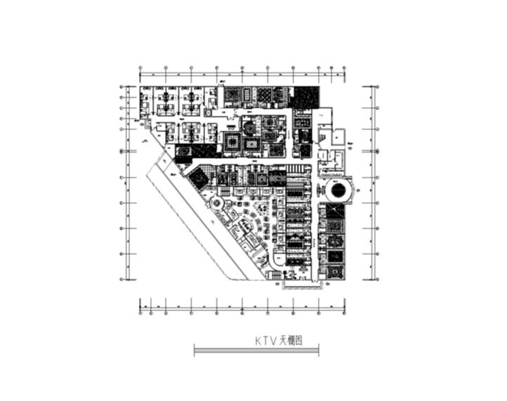 天王星KTV室内设计装修图纸(含施工图JPG)