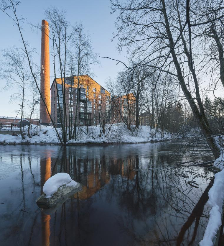 芬兰Albertinpiha公寓楼-2