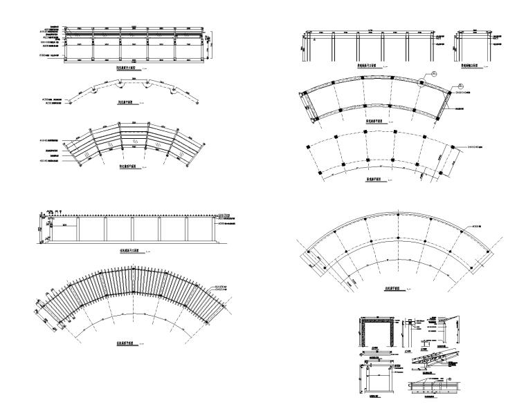 精选景观亭廊施工图(50套)-精选景观亭廊施工图(30套)05