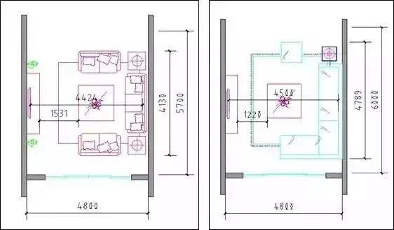 u型厨房橱柜尺寸资料下载-户型常用尺寸