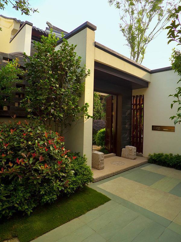 别墅庭院绿化有讲究,你做对了么?_3
