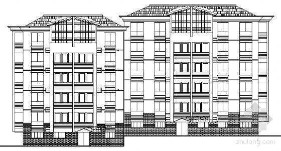 某住宅小区五层住宅单体设计方案