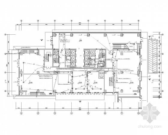 [安徽]超高层办公楼强弱电全套施工图纸(楼宇智能控制系统、集中空调系统)