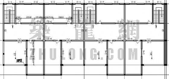 某联体别墅的平、立面设计方案-3