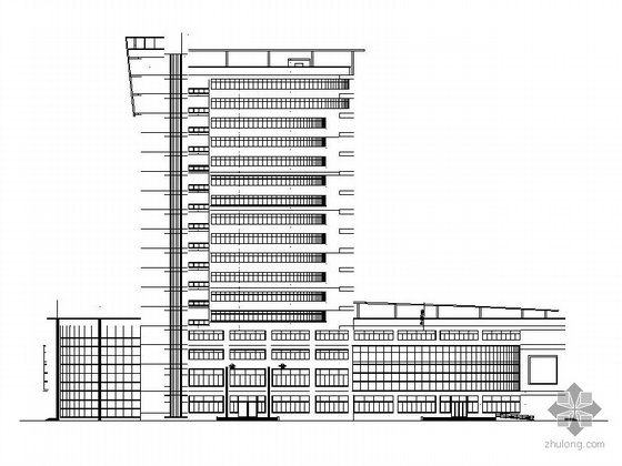 某十四层办公楼建筑施工图