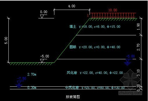 [浙江]影视城深基坑支护与降水设计方案(土钉墙)