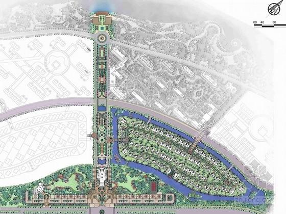 [抚顺]高贵优雅法式皇家刺绣公园景观规划设计方案