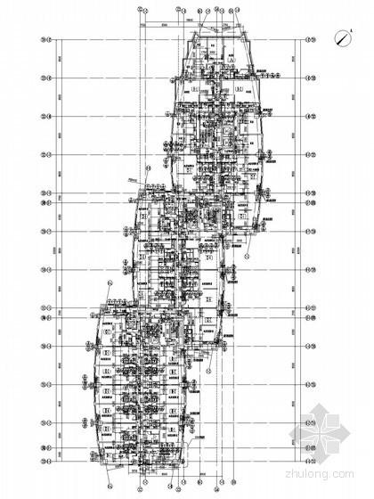 [山东]24万平休闲购物广场给排水图纸(气体灭火 水幕系统)