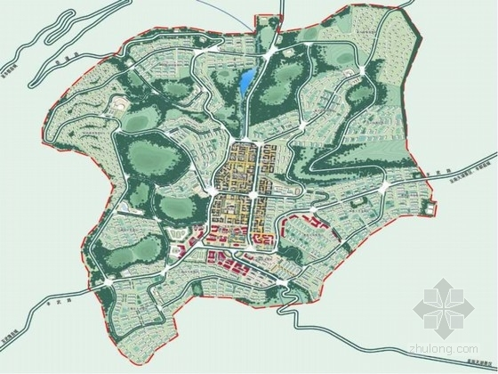 [重庆]灵魂之乡概念性城市景观设计