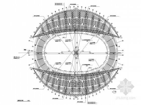 [哈尔滨]综合甲级体育场强电系统施工图纸