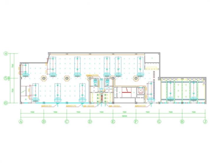 [广东]多层休闲娱乐会所及办公区空调通风系统设计施工图