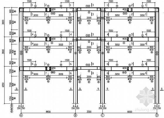 [学士]框架配筋课程设计