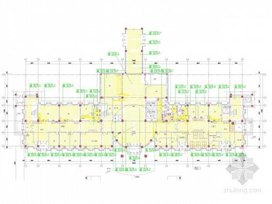 [上海]多层医院系列建筑采暖通风及防排烟系统设计施工图
