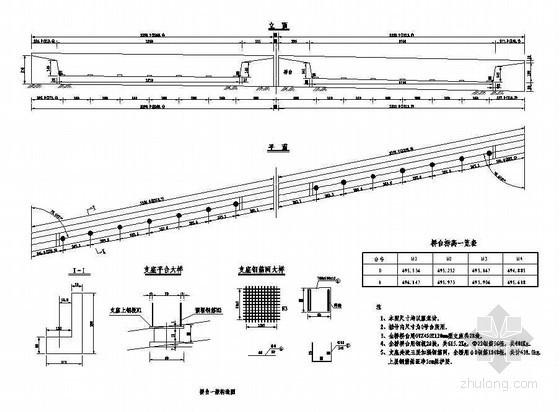 45m现浇预应力混凝土简支箱梁桥台一般构造节点详图设计