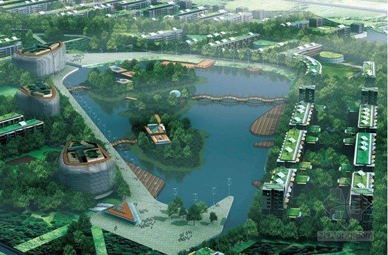 某生态城生态规划设计详细资料