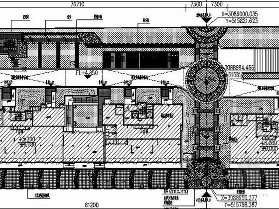 [浙江]精美安置房附属景观工程设计施工图
