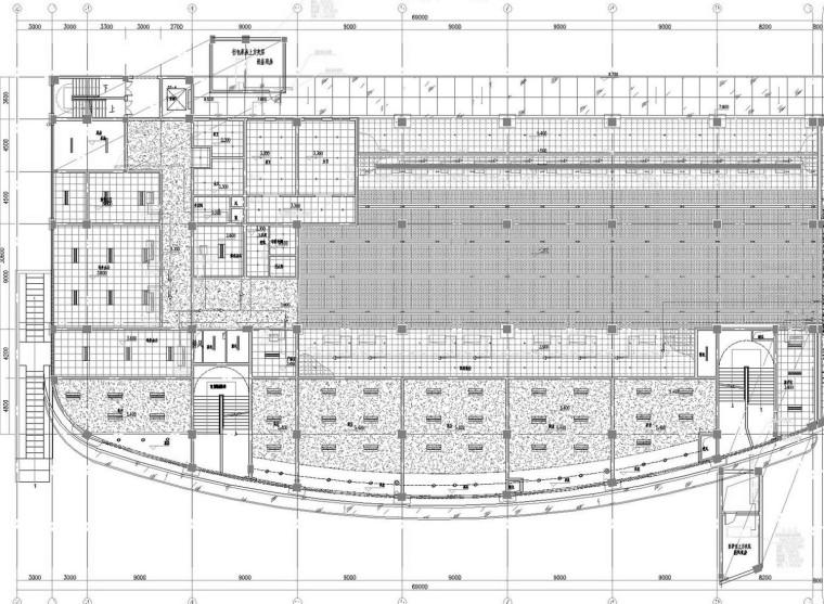 [浙江]多层客运站建筑空调通风及防排烟系统设计施工图(人防设计)