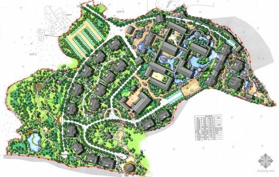 小区景观规划部分套图