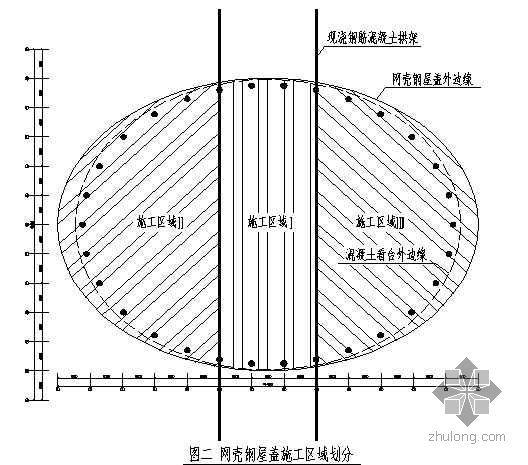 山西某体育馆工程施工组织设计(跨度115m 拱形网壳)