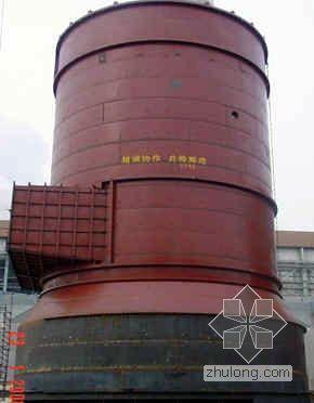 倒装法安装异型吸收塔方案研究