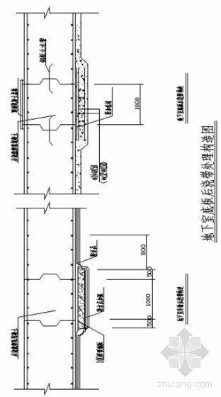 青岛某商务楼模板施工方案(带附图)