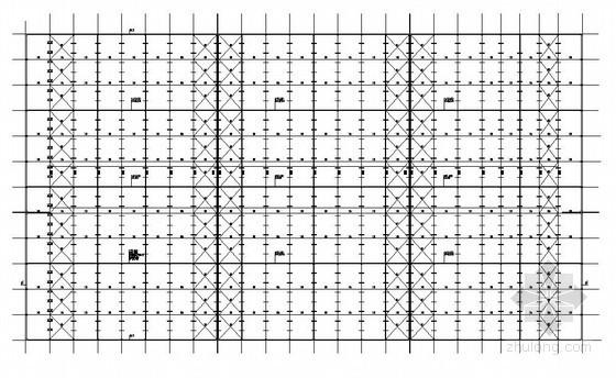 [广东]框排架结构厂房结构施工图