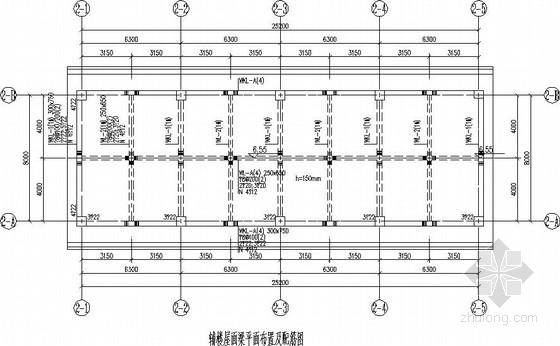 人民医院消防水池泵房结构施工图
