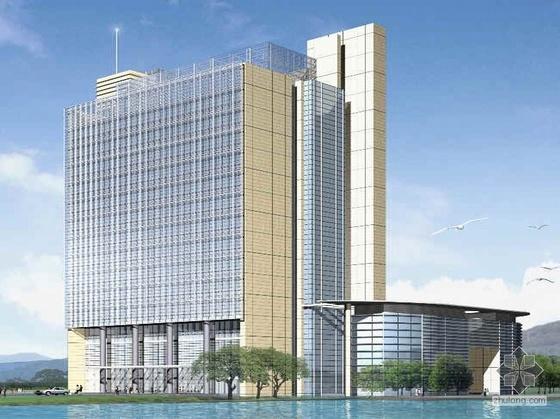 东南某大学科技园管委会综合大楼方案设计文本