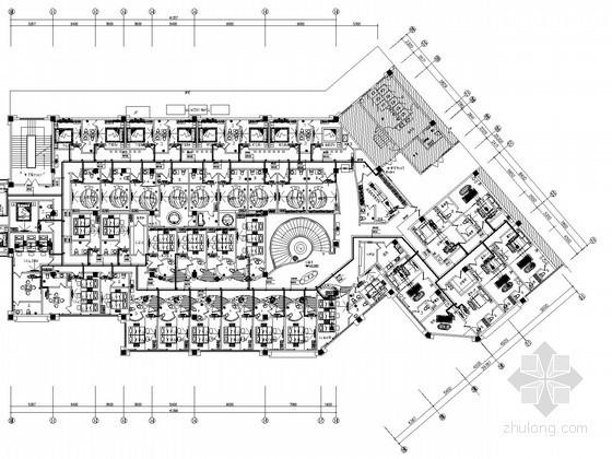 [湖北]养生休闲会所舒适性空调系统设计施工图(空气源热泵)
