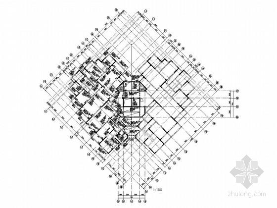 31层剪力墙结构住宅楼结构施工图(超经典转换层)