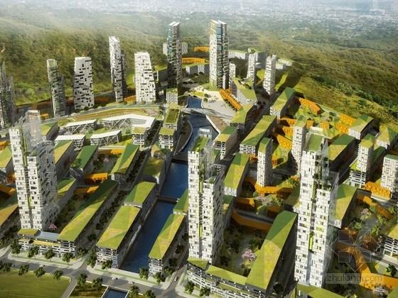 [长沙]混用居住区景观规划设计方案
