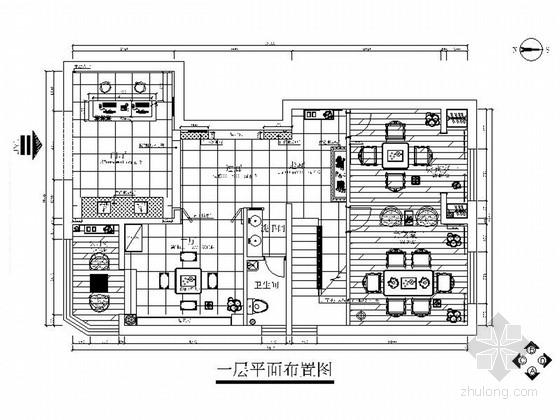 精品新中式茶楼室内设计装修施工图