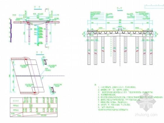 [河北]2016年设计公路1-20m小箱梁桥两侧加宽15.5米、加宽5.4米设计施工图77张