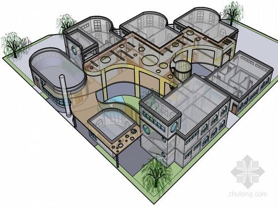 [学生课程设计]幼儿园设计方案