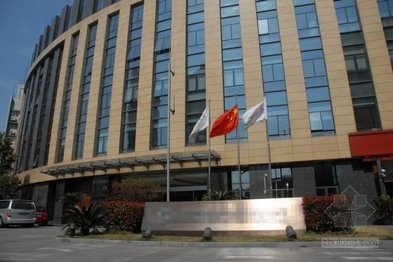 [上海]五层框架结构办公楼结构施工图(含建筑图)