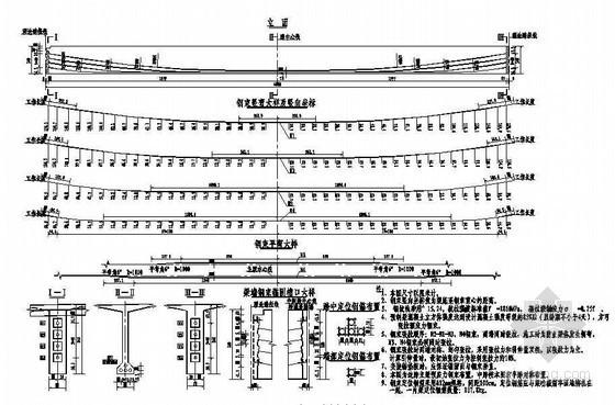 40米预应力简支T梁(新规范)主梁预应力钢束布置节点详图设计