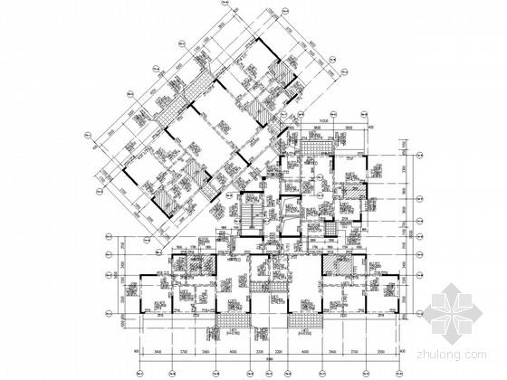 7度区9层剪力墙住宅部分结构施工图