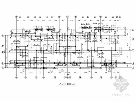 [安徽]六层框架结构住宅楼结构施工图