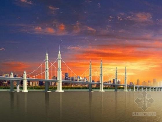 [宁夏]主桥三塔双索面叠合梁自锚式悬索桥黄河大桥设计图纸1029张(监控电气)