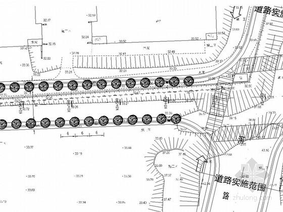 [湖南]市政道路景观绿化工程施工图设计9张