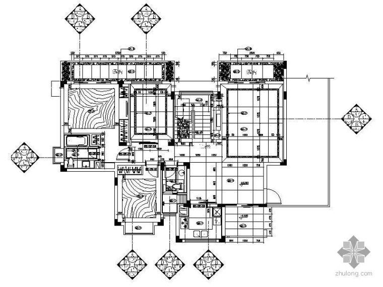 [无锡]某国际社区样板房B5装修图