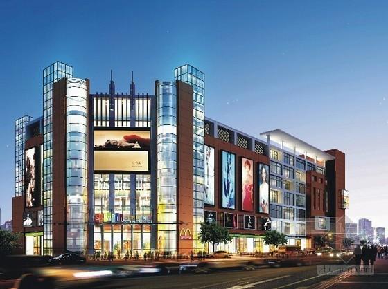 [广东]大型商业室内步行街装饰及安装工程量清单报价(全套报表)