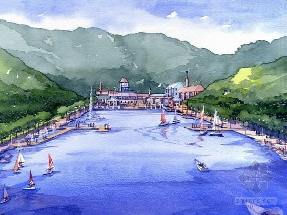 [深圳]大型生态净土绿色岸线滨水城市景观规划设计方案(知名设计所)