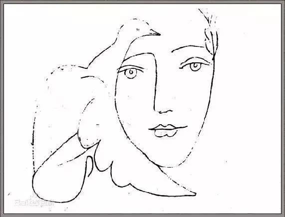 手绘  幼儿园大班绘画水平到现代艺术的创始人