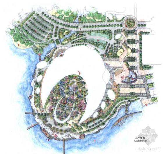 [江苏]某科技文化艺术中心环境景观设计方案