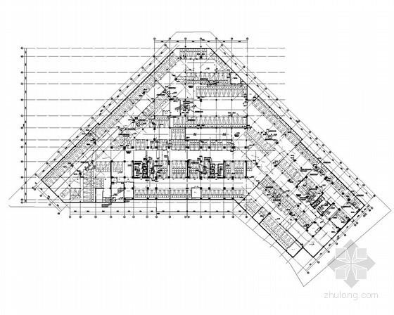 [四川]综合高层建筑给排水施工图纸