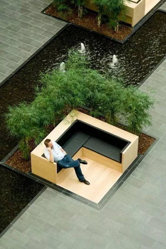 这才是景观座椅的正确打开方式!!_6