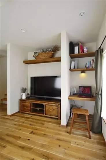 室内设计 80㎡小户型装修样板间赏析