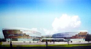 效果图-重庆石子山体育场第1张图片