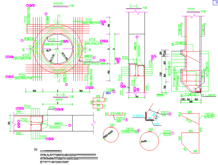 2016年红线宽60米城市快速路图纸全套816张(天桥通道桥U槽隧道,排水照明绿化交通电力)_9